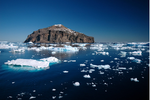 Island in the Antarctic Sound