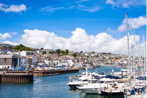Falmouth harbour, Cornwall