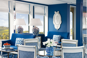Uniworld River Queen - Main Lounge