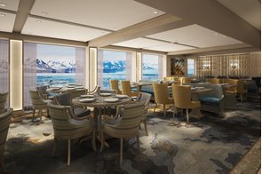 Quark Expeditions World Explorer Renderings Restaurant