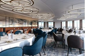 Quark Expeditions - Ultramarine - Main restaurant