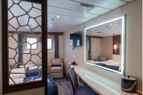 Quark Expeditions - Ocean Adventurer - Deluxe Cabin