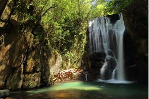 Waterfall near Shingu, Japan