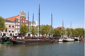 Dordrecht harbour, Netherlands