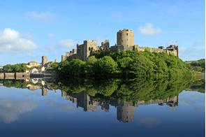 Pembroke Castle, Wales