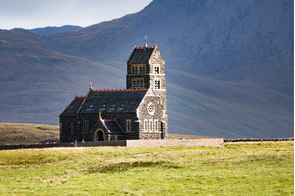Church on the Isle of Canna, Scotland