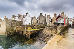 Stromness harbour in the Orkney Islands, Scotland