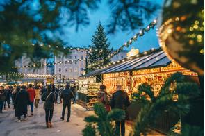 Christmas markets in Salzburg, Austria