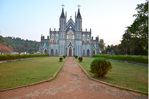 St Lawrence Minor basilica in Mangalore, India
