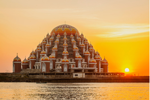 99 Domes Mosque in Makassar, Sulawesi, Indonesia