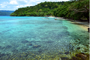 Beach on Pulau Weh, Indonesia
