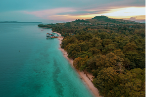 Liang beach, Ambon, Indonesia