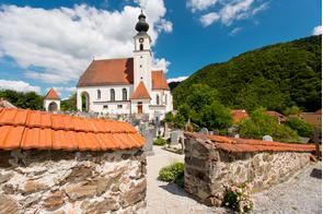 Church in Engelhartszell an der Donau, Austria