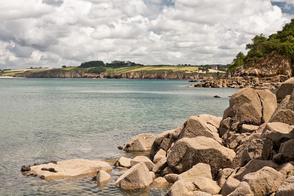 Douarnenez bay, Brittany, France