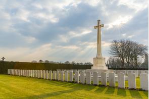 Dunkirk memorial cemetery, France