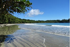 Beach on Isla Parida, Panama