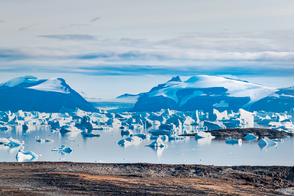 Iceberg graveyard, Savissivik Bay, Greenland