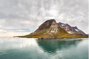 Alkhorney mountain, Spitsbergen