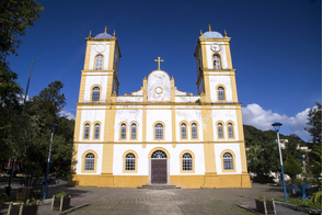 Church in Sao Francisco do Sul, Brazil