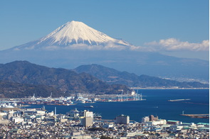 Shimizu and Mount Fuji, Japan