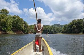 Embera indian, Panama