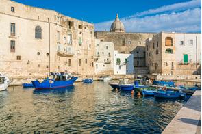 Monopoli harbour, Italy
