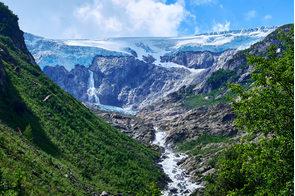Folgefonna glacier, Hardanger, Norway