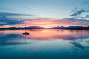 Loch Creran near Eriska, Scotland