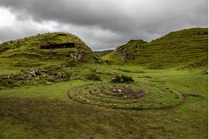 Fairy glen in Uig, Skye, Scotland