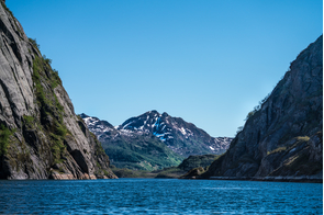 Entrance to the Trollfjord, Norway
