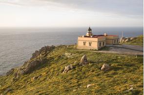 Lighthouse in Ferrol, Galicia, Spain