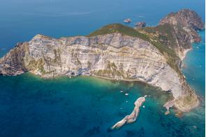 Palmarola island, Italy