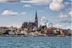Church in Lysekil, Sweden