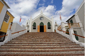 St Peter's church in St George's, Bermuda