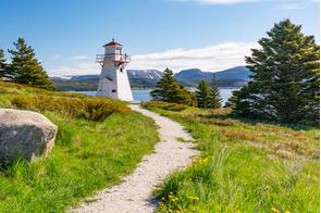 Woody Point lighthouse, Newfoundland, Canada