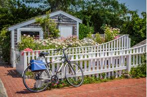 Boat house in Martha's Vineyard, USA