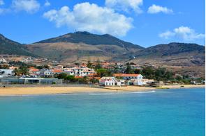 Porto Santo beach, Madeira, Portugal