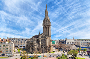 Saint Pierre church, Caen, France