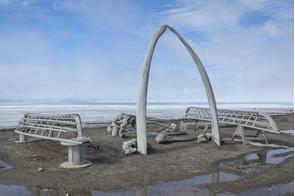Whale bone arch, Barrow, Alaska
