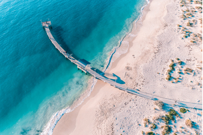 Jurien Bay jetty, Australia