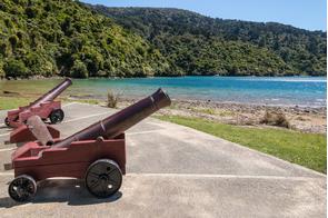 Ship Cove, Marlborough Sound, New Zealand