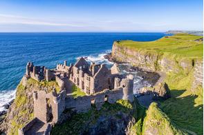 Dunluce Castle, Antrim, Northern Ireland