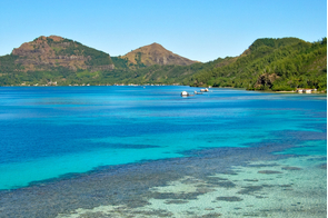 Pearl farms, Mangareva island, French Polynesia