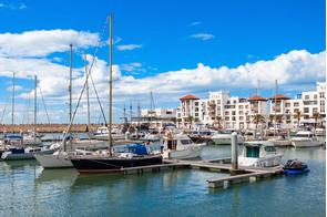 Agadir marina, Morocco