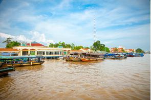 My Tho port, Vietnam
