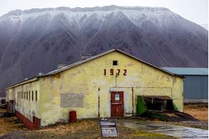 Abandoned mining settlement of Pyramiden, Svalbard