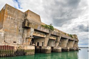 Keroman submarine base, Lorient, France