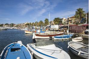 Bandol marina, France