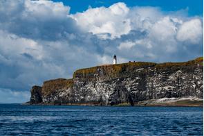Lighthouse on Copinsay, Scotland