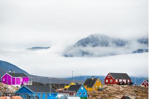 Saqqaq village, Greenland